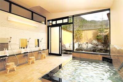 飛騨高山の奥飛騨温泉-お宿のざわ内湯