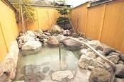 飛騨高山・奥飛騨温泉郷お宿のざわの露天風呂